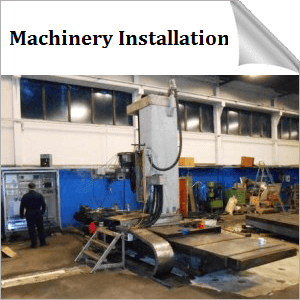 Machinery Installation in Estonia