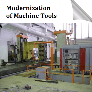 Modernization of Machine Tools in Estonia